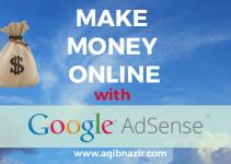 make money online with google adsense