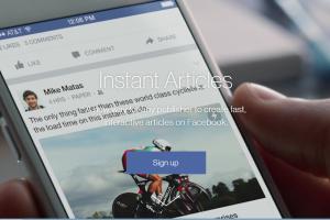setup facebook instant articles