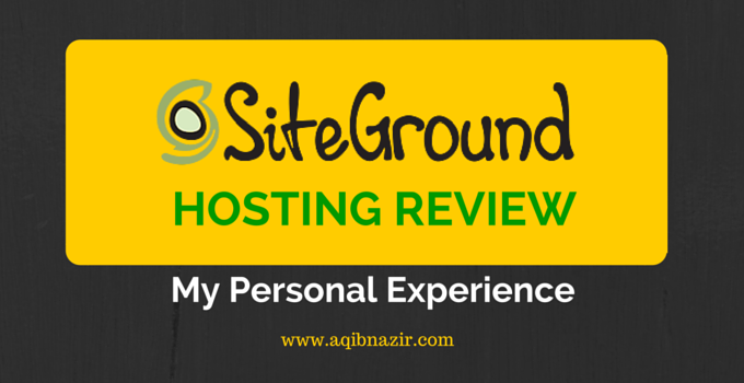 SiteGround Hosting Review Cover