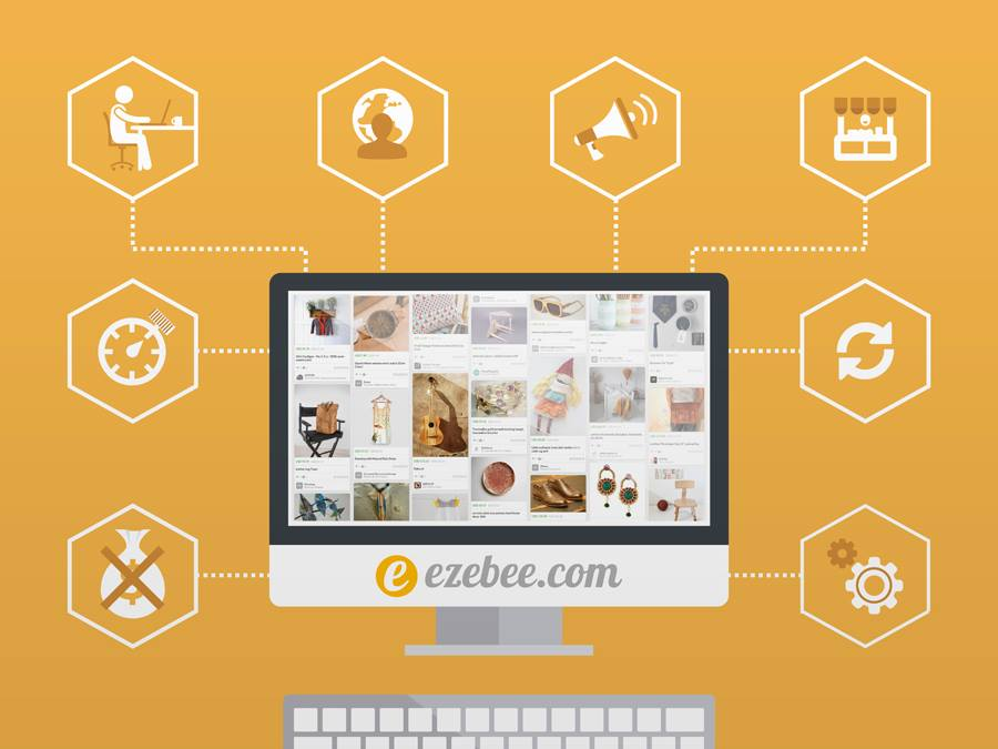 Exebee mobile-first free social commerce