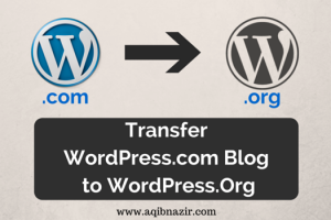 Transfer from Wordpress.com to WordPress.Org Cover