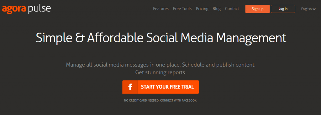 Agorapulse for automating social media networks