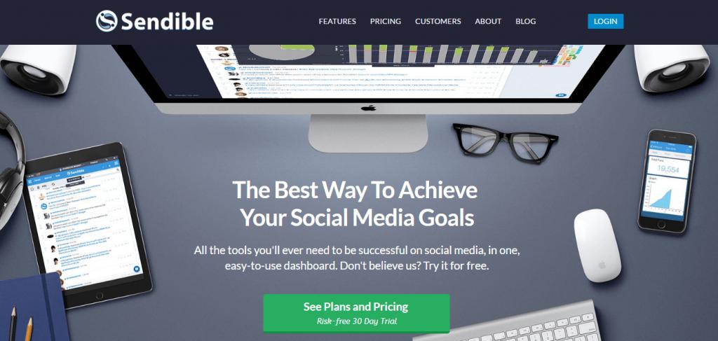 Sendible Social Media Management App