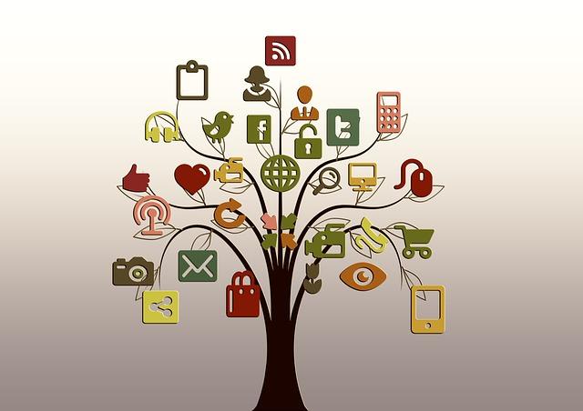 Different Social Media Accounts